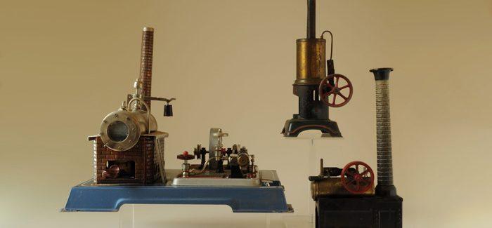 Object van de maand: de stoommachine én het fornuisje
