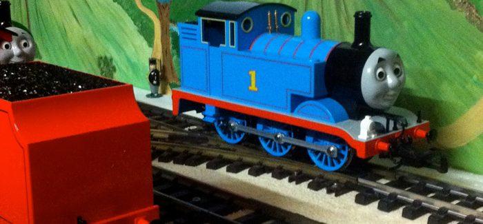 Loomen, waterraketten bouwen en een hele week op reis met Thomas de stoomlocomotief!