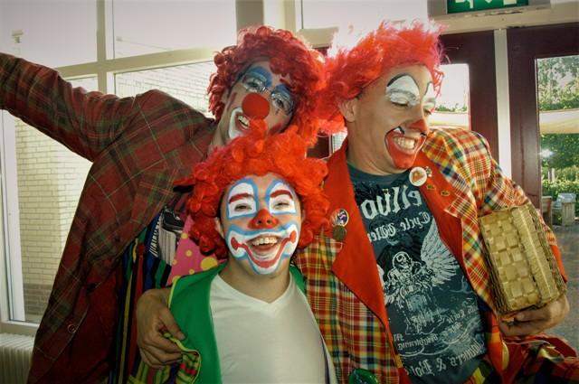 Clowns op Vakantie!