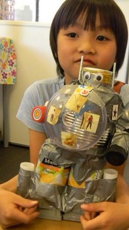 Robots en ruimteschepen bouwen